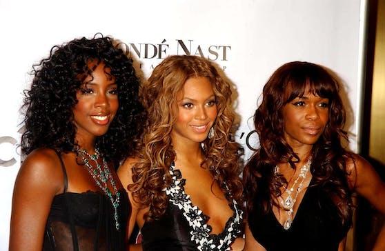 """Mit ihren Kolleginnen Kelly Rowland (links) und Michelle Williams (rechts) wurde Beyonce als Frontfrau von """"Destiny's Child"""" berühmt."""