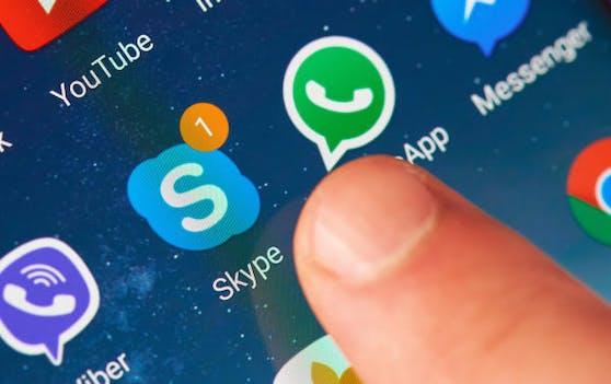 Skype kann jetzt ohne App aufiPhones genutzt werden.