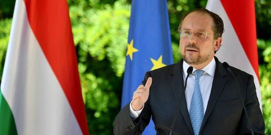 """""""Das ist ein weiterer Schritt der Türkei weg von Europa"""", so Außenminister Alexander Schallenberg in einer Aussendung."""