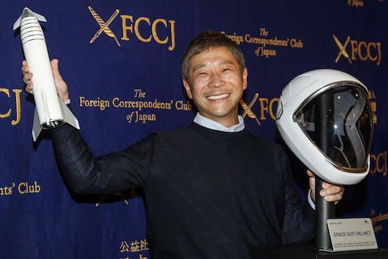 Maezawa fliegt voraussichtlich 2021 zum Mond - mit dir?