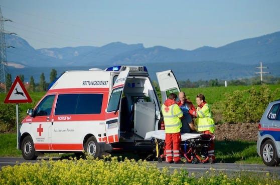 Zwei Personen mussten hospitalisiert werden.
