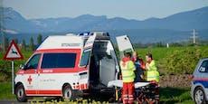 Wiener verursacht in Velden drei Mal Totalschaden