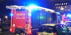Feuerwehr holt Bewusstlosen aus Flammen-Wohnung