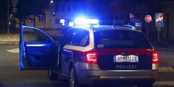 Ein Polizeieinsatz