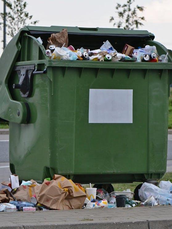Müllkartell sorgt für Aufregung.