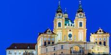 Dieb räumte Opferstock in der Stiftskirche Melk aus