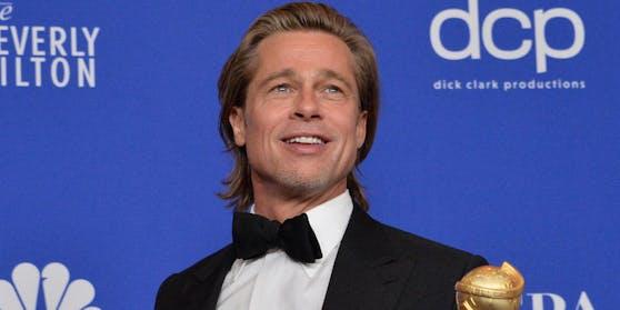 Brad Pitt bei der Verleihung der Golden Globes