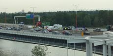 Crash bei Vösendorf sorgt für Stau auf Wiener Tangente
