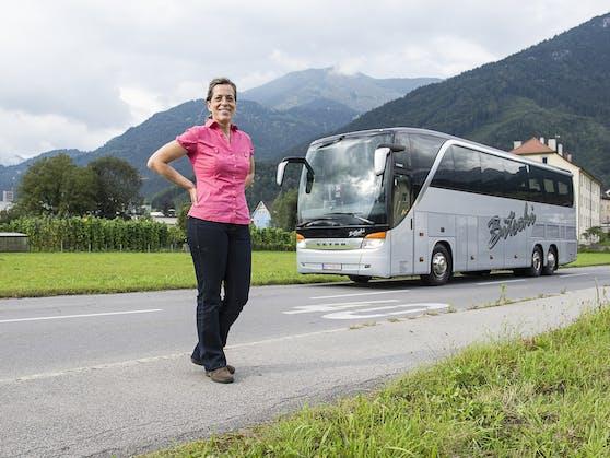 Bus-Unternehmerin Bettina Bitschi