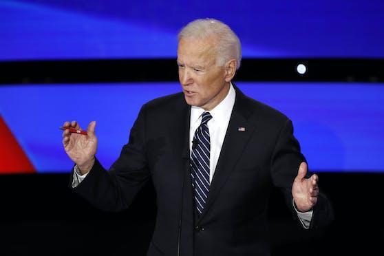 Joe Biden geht gegen Donald Trump ins Rennen.