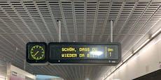 Wiener Linien begrüßen Fahrgäste in den U-Bahnen