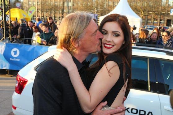 Seit 2015 sind Nathalie Volk (r.) und Frank Otto (l.) ein Paar.