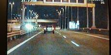 Drei Lenker glühten über Wiener Autobahn