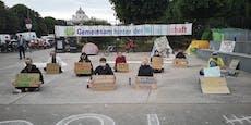 Greta teilt Wiener Klima-Protest gegen Regierung