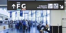 40-facher Taschendieb am Airport Schwechat festgenommen