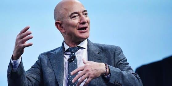Amazon-Chef Jeff Bezos wurde seit Jahresbeginnum 72,6 Milliarden Dollar reicher.