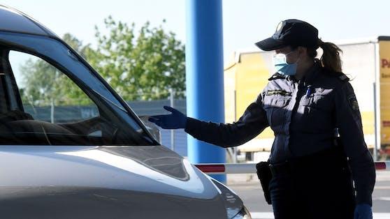 Grenzkontrolle in Kroatien (Archivbild)