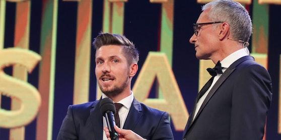 Marcel Hirscher und Rainer Pariasek bei der Sporthilfe Gala.