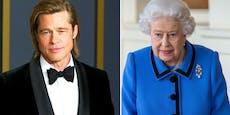 Brad Pitt und die Queen sind miteinander verwandt