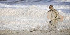 Drama in der Nordsee:Mehrere Surfer gestorben
