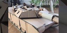 Bau deinem Tiger doch einen Panzer