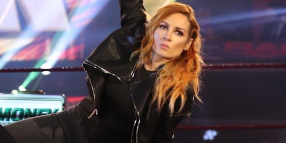 "Becky Lynch in der TV-Show ""RAW""."