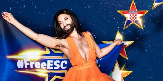 Conchita Wurst wird heute beim #FreeESC nicht nur moderieren, sondern auch singen