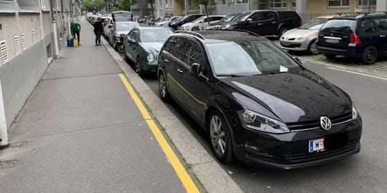 Klaus Schwertner wusste nicht, dass die gelbe Linie am Boden für ein Halte- und Parkverbot steht. (Symbolbild)