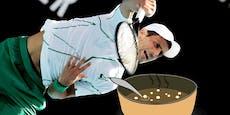 Tennis-Ass Djokovic verrät seine Ess-Gewohnheiten