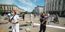 Klima-Demos werden zum Schildermeer
