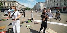 Österreich versinkt heute im Klima-Schildermeer