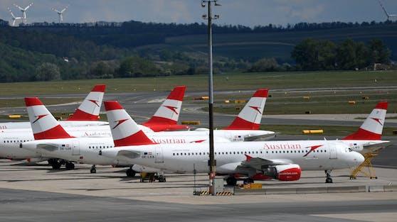 Schwere Zeiten für Austrian Airlines