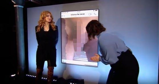 Palina Rojinski zeigte Fotos, die ihr zugeschickt werden