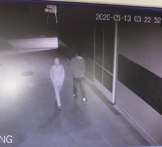 Diese beiden Männer brachen beim LASK ein