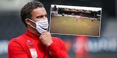 LASK-Trainings: Sperre für Coach Valerien Ismael?