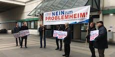 FPÖ-Protest gegen Asylheim nach 15 Minuten vorbei