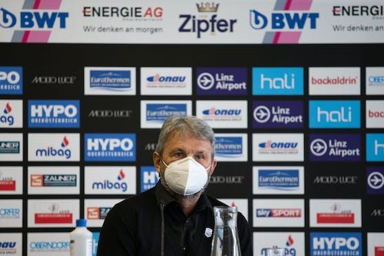 LASK-Manager Jürger Werner