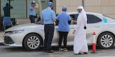Ohne Maske unterwegs: In Katar droht Gefängnisstrafe