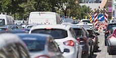 Verkehrskollaps nach Unfall am Inneren Gürtel