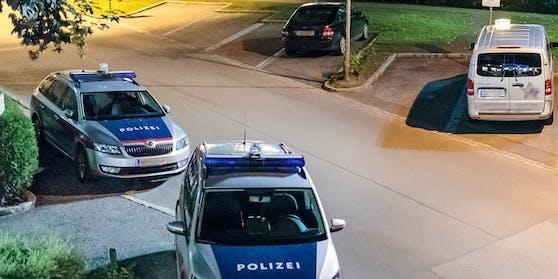 Die Polizei schritt ein.