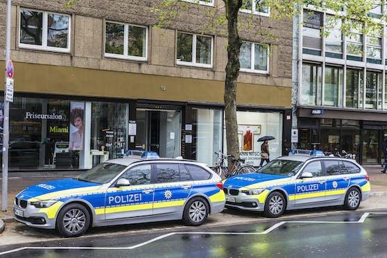 Die deutsche Polizei im Einsatz. Symbolbild.