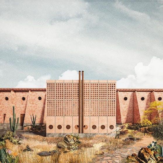 Das Atelier ARS besteht aus Alejandro Guerrero und Andrea Soto, die auf ihrem Instagram-Account ihre eigenen Bauwerke zeigen.