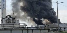 Großbrand in Venedig: Warnung vor Giftwolke