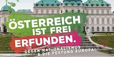 Grüne Jugend provoziert am Jahrestag des Staatsvertrags