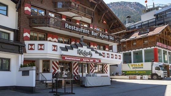 """Das Apres-Ski-Lokal """"Kitzloch"""" in Ischgl war eines der Epizentren der Corona-Pandemie."""