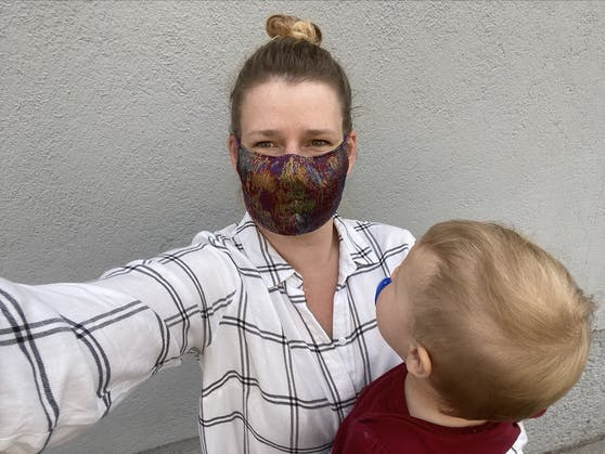 """""""Heute""""-Redakteurin Christine Scharfetter erzählt über ihre Herausforderungen als Mama."""