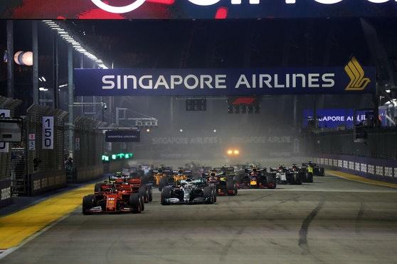 Aufgrund der Corona-Krise wird der Singapur-Grand-Prix ins Wasser fallen.
