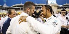 Lewis Hamilton ist reicher als David Beckham