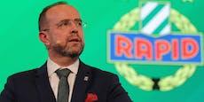 """Rapid-Boss Bruckner: """"Es gibt nichts schönzureden"""""""
