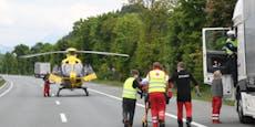 Auto prallt gegen Baum: Beifahrer (29) sofort tot
